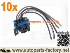 10pcs Fuel Pump Wiring Harness Spectra FPW4-GMC Buick Cadillac Pontiac Chevrolet Oldsmobile 6""