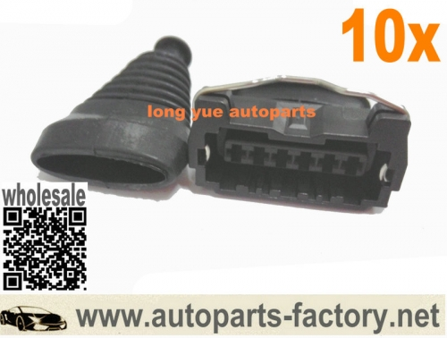 longyue 10set Nissan Z32 300zx Afm Maf Connector Mass Air Flow Meter Loom Harness Plug 22680-30p00