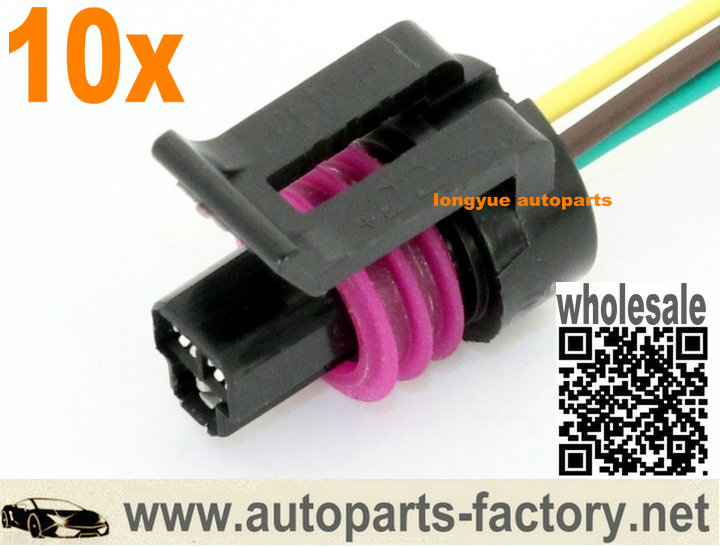 long yue ls1 3 wire coolant temperature temp sensor wiring connector rh autoparts factory net