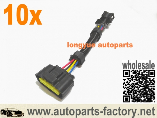 10pcs Ford Mustang Lightning Mass Air Meter Adapter Harness 4 TO 6 PIN OBD-I to OBD II MAF Adapter
