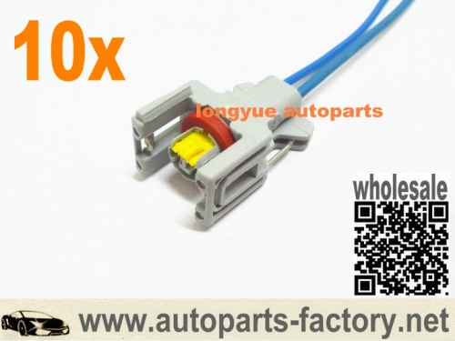 10pcs Ford Renault Secnic Nissan KIA 1.5 DCI diesel fuse injector connector pigtail 6""