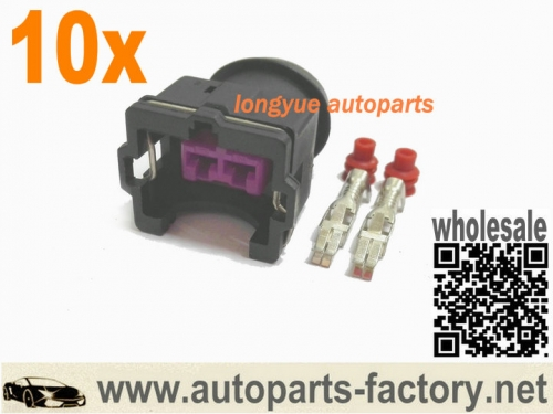 longyue 10Kit EV1 Injector Econo Connector Fuel Injector socket new