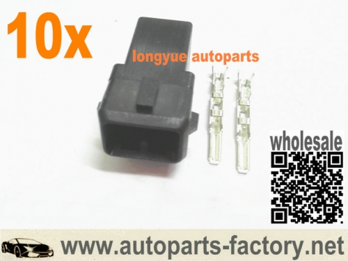 10set Male EV1 Repair Connector  Plug For Bosch Fuel Injector OBD1