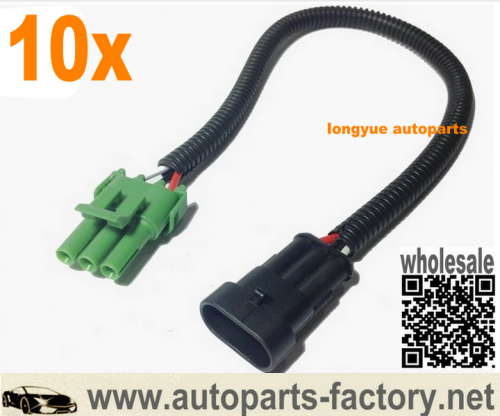 longyue 10pcs LS1 MAP to Remote Mount 1 BAR MAP Sensor adapter harness 12""