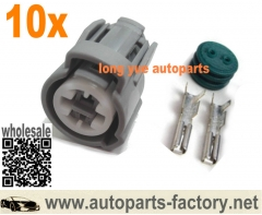 longyue 10pcs Honda - Acura VTEC Oil Pressure Switch, Knock Sensor, Coolant Sensor Connector