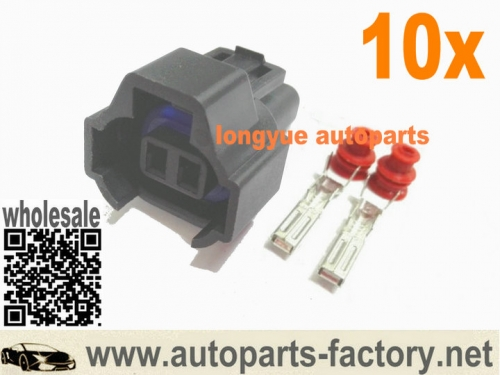 longyue 10set NSO Nippon Denso Universal Electrical Connector Dual Slot