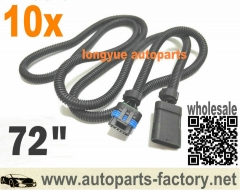 longyue 10pcs GM 6.5L turbo diesel FSD PMD relocation extension harness cable for cooler plate
