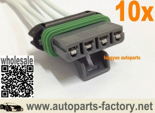 longyue 10pcs Heater Blower Motor Resistor Pigtail Harness For Colorado Canyon SSR Pickup 8""