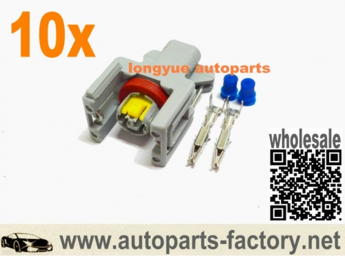 10set Renault secnic 1.5 DCI diesel fuse injector connector Delphi Common Rail Ford Nissan Kia