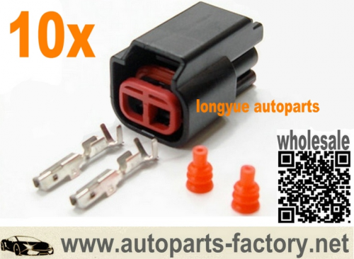 longyue 10kit ignition coil and alternate coil on plug ( cop ) harness side connector ( 2 way plug )