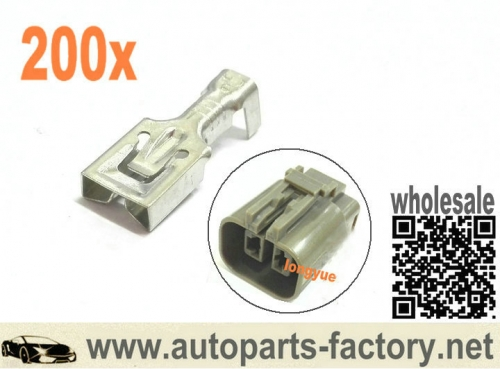 200pcs Terminals For Alternator plug /connector to suit Bosch - Hitachi - Mitsubishi - Ford - Holden