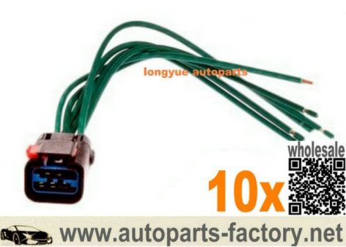 longyue 10pcs GM Chrysler, Dodge Jeep Window, Wiper Motor Tail Lamp Connector 5013984AA 1P1645 12""