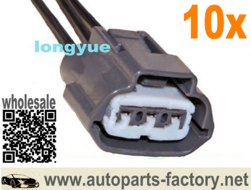longyue 10pcs 3 Way Ignition coils Plug repair connector pigtail harness for Nissan and Mazda 6""