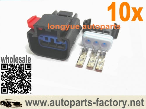 longyue 10set Connector Plug Fit Chrysler Dodge Jeep Speed Sensor VSS 3 Terminal