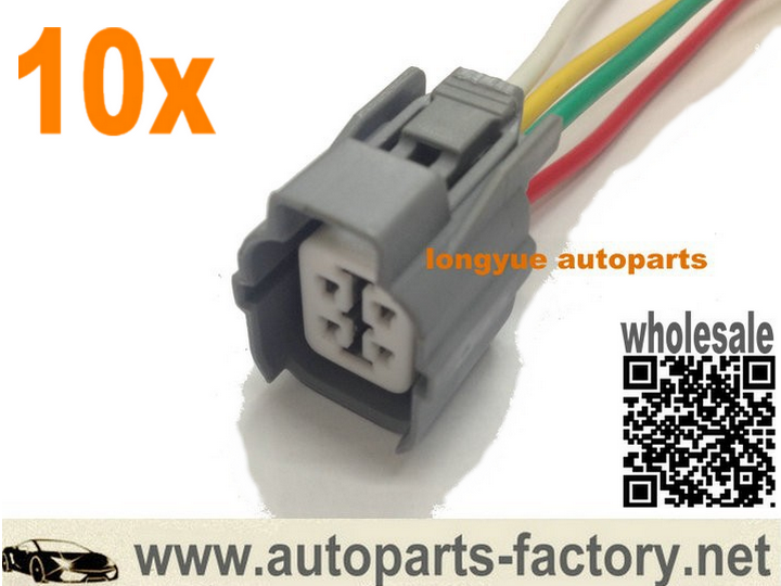 wire harness repair kit 4 way honda o2 oxygen sensor female connector pigtail 6 quot repair wire harness