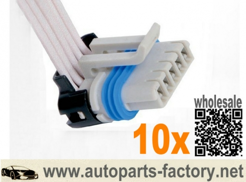 10pcs 6.0l 6.0 POWERSTROKE EGR Valve Repair Connector Harness Pigtail 12""