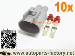 longyue 10set Male Repair Connector Kit Fan Radiator Relay 246810-3560 1B843 Toyota Lexus
