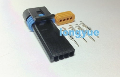 longyue 10kit GM Packard - 4 way metripack 150.2 long plug connector Kit for optispark 95 - 97