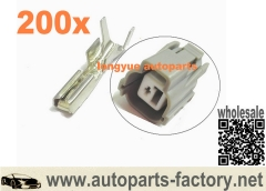 longyue 200pcs GM Terminals For 92-00 Honda/Acura sensor connector VTEC,A/C compressor