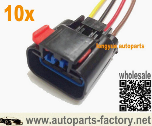 longyue 10pcs Radiator Fan Relay Connector Pigtail 2003 JEEP GRAND CHEROKEE 4.7L V8