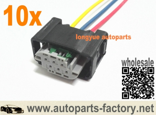 longyue 10pcs YMQ503220 Land Rover Discovery 3 Height Sensor Wiring Harness Plug 12""