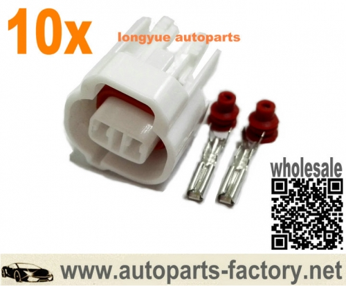 longyue 10set Toyota Lexus 1UZ 1UZFE 1UZ-FE VSV Vacuum Switching Valve Connector Left Keyway