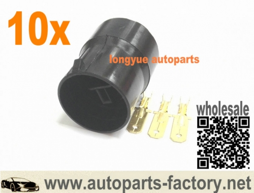 10set Male Nipondenso Alternator Repair Plug Connector Kit Fit Toyota Honda Lexus chevrolet