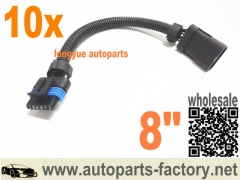 longyue 10pcs 6.5 6.5L turbo diesel FSD PMD relocation etension harness/ cable for cooler plate