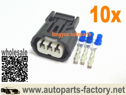 long yue 10pcs Honda Acura Civic Pilot Accord  Map Sensor & Crank Angle Sensor Connector Plug