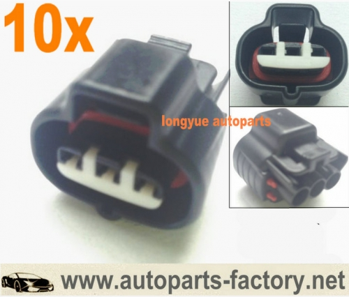 longyue 10pcs 3P sumitomo Toyota fuel injector connector / TPS & Boost Sensors connector