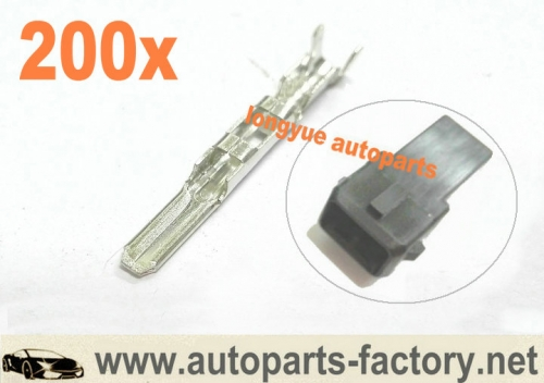 longyue 200pcs Terminals For Male Ev1 Injector Connector Plug
