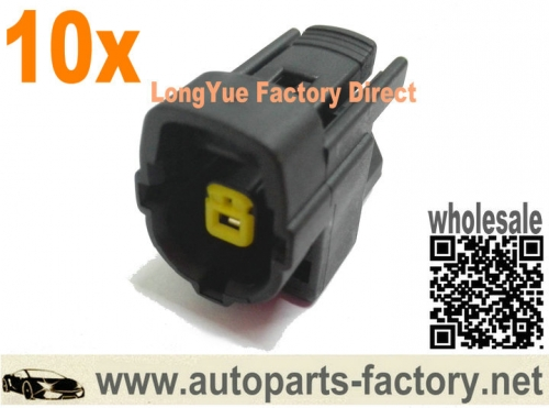 longyue 10pcs 1 way Engine Oil Level Sensor Connector For Ford F-250 2011-2013