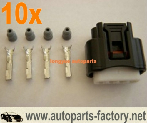 longyue 10pcs Toyota Lexus Camry Corolla Rav4 Highlander Denso Ignition Coil Plug Connector