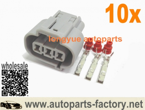 longyue 10set female ignition coil Plug Connectors Fit BYD F3 G3 L3