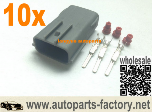 longyue 10pcs 3P EVO 4-10 Coil Connector Kit RX8 harness repair plugs