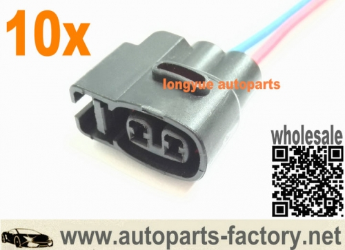 10pcs Ignition Coil Pack Connector Pigtail fit Toyota Supra 1JZ 2JZ Soarer verossa SuperSpark