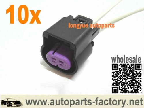 longyue 10set 2pin connector pigtail fit Oldsmobile Bravada 2002-2004, Wheel Speed Sensor 12""