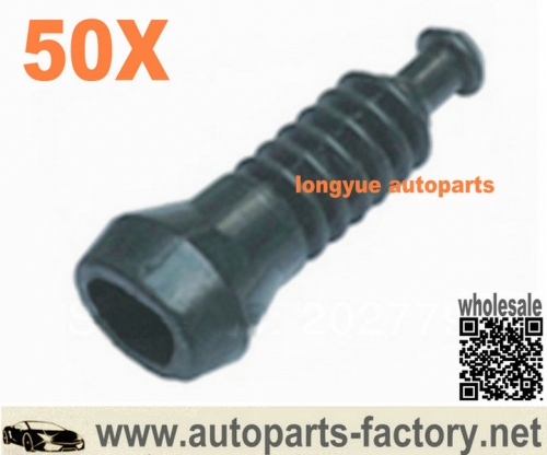 longyue 50pcs Superseal and Junior Power Timer J.P.T 2 Way Connector Rubber Boot JPT/AMP 2 Pin