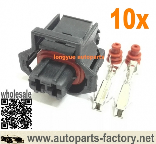 longyue 10pcs TYCO AMP 2P Diesel Injection Pump connector 936059-1