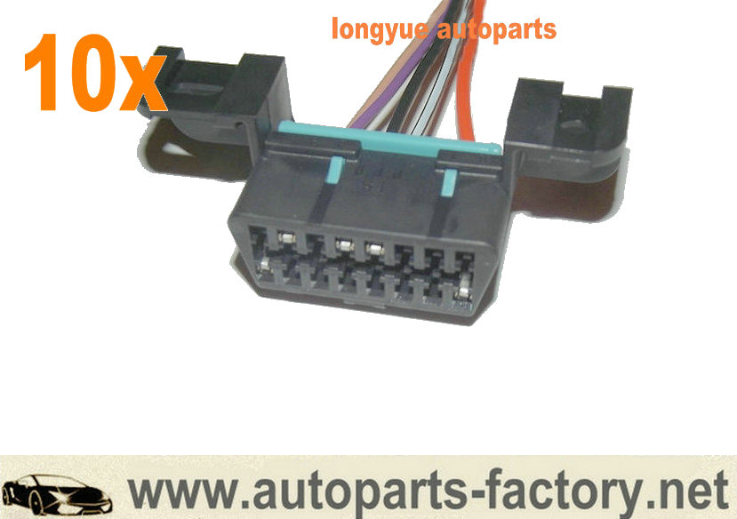 GM LS1 LT1 OBDII OBD2 Wiring Harness Connector Pigtail 96+ ... Obd Wiring Harness on