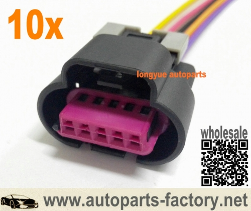 5 Wire Connector Pigtails  Wire Maf Harness on