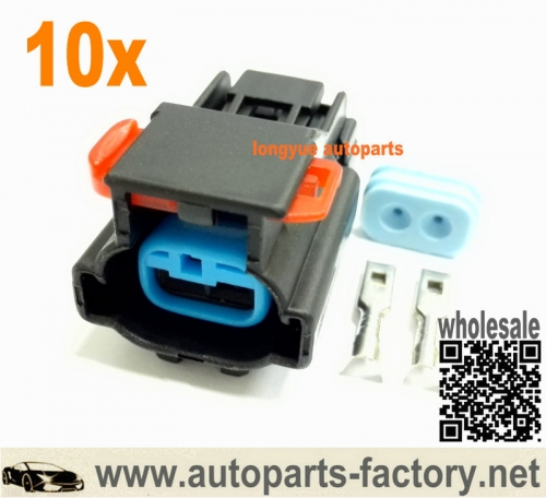 longyue 10set 99-04 Jeep Grand Cherokee Radiator Cooling Fan Motor Plug Connector Kit