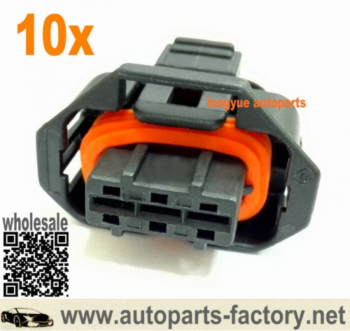 longyue 10kit 3-way sealed Plug BDK Female Connector Assembly for Diesel Injection Pump