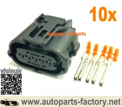 longyue 10set 5-way Mass Air Flow MAF Sensor Connector Original Equipment ACDelco PT2268 / GM 19151506
