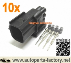 longyue 10kit 4 pin HV .040 male sensor repair connector kit- with Terminals and seals