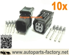 longyue 10kit 4 pin HV .040 Female and Male Connector - with Terminals and seals