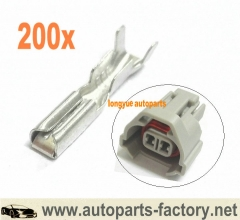 200pcs terminals for NSO Nippon Denso Fuel Injector Subaru