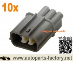 longyue 10set Honda/Acura VSS - Vehicle Speed Sensor connector CBR Wheel-speed sensor male connector