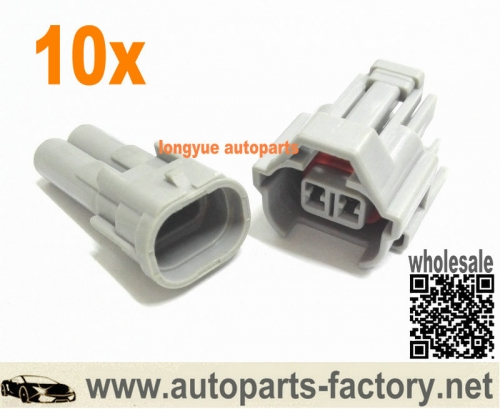 longyue 10Kit Nippon Denso fuel injection Connector Kit EFI for Subaru, Toyota etc