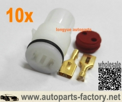 longyue 10set 2P Connector for Honda Distributor Plug Femal